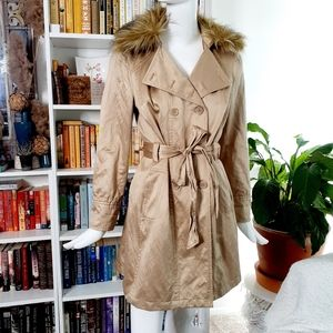 INC International Concepts Mid-Length Trench Coats